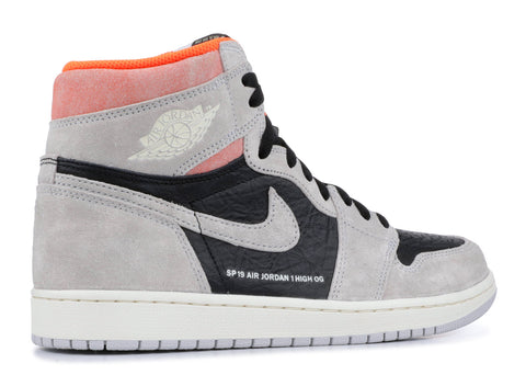 "AIR JORDAN 1 HIGH OG ""GREY CRIMSON"" Pre-Owned"
