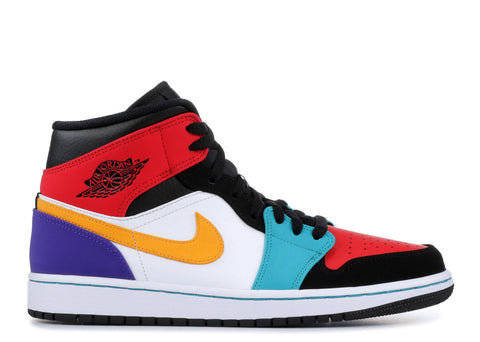 "Air Jordan 1 Mid ""MULTI COLOR"" 554724 125"
