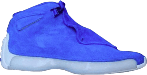 "Air Jordan 18 Retro ""Racer Blue""  AA2494 401"