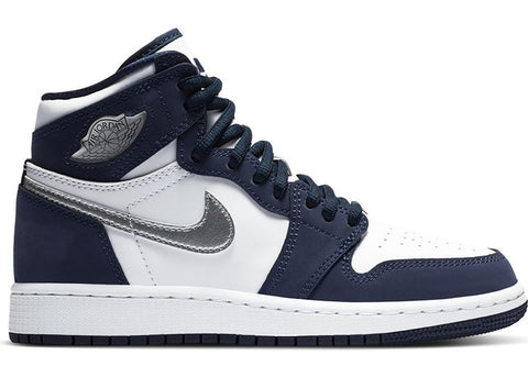 "AIR JORDAN 1 RETRO HIGH OG CO JP GS ""MIDNIGHT NAVY"" 575441 141"