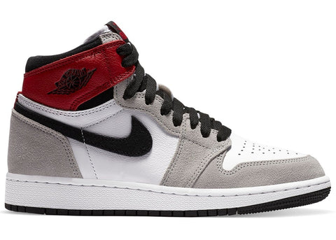 "AIR JORDAN 1 RETRO HIGH OG GS  ""SMOKE GREY"" 575441 126"