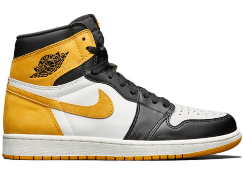 "Air Jordan 1 Retro High OG ""Yellow Ochre""  555088 109 ."