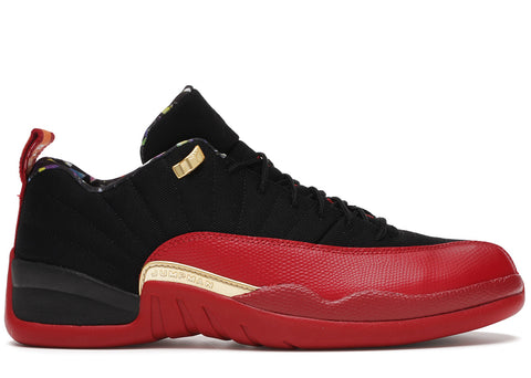 "AIR JORDAN 12 RETRO LOW SE (GS) ""SUPER BOWL"" DH9695 001"