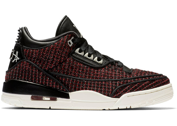 "Jordan 3 Retro ""AWOK Vogue RED (W)"" BQ3195 601"