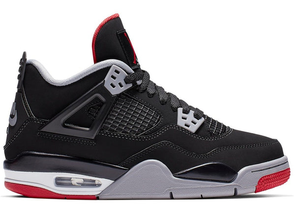 "AIR JORDAN 4 GS RETRO ""BRED 2019"" 408452 060"