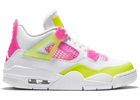 "AIR JORDAN 4 RETRO GS ""WHITE LEMON PINK"" CV7808 100"
