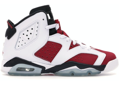 "AIR JORDAN 6 RETRO GS ""CARMINE 2014"" 384665 160"