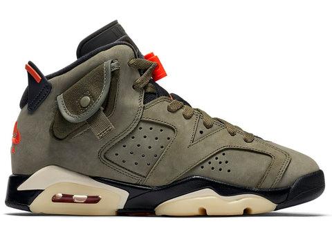 "Air Jordan 6 Retro GS ""TRAVIS SCOTT""  CN1085 200"