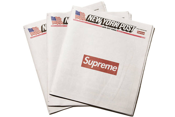 "Supreme x New York Post ""Newspaper"""