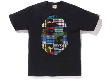 "BAPE  ""Patch Work"" Tee Black"