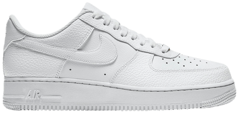 "Nike Air Force 1 '07 ""TUMBLED LEATHER"" CZ0326 101"