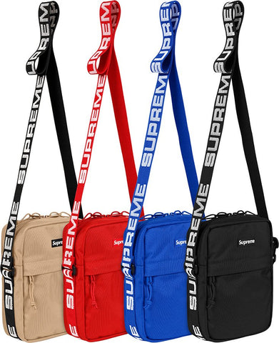 Supreme S/S 2018  Cordura Shoulder Bag Royal