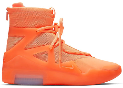 "NIKE AIR FEAR OF GOD 1 ""ORANGE"" AR4237 800 ."