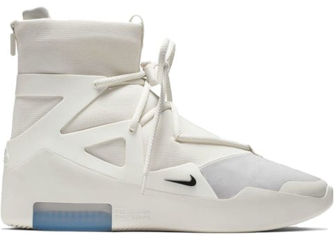 "NIKE AIR FEAR OF GOD 1 ""SAIL BLACK"" AR4237 100"