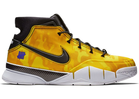 "NIKE Kobe 1 Protro Undefeated ""yellow Camo""  BV1207 901"