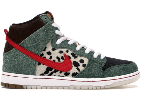 "Nike Dunk SB High ""DOG WALKER"" BQ6827 300"