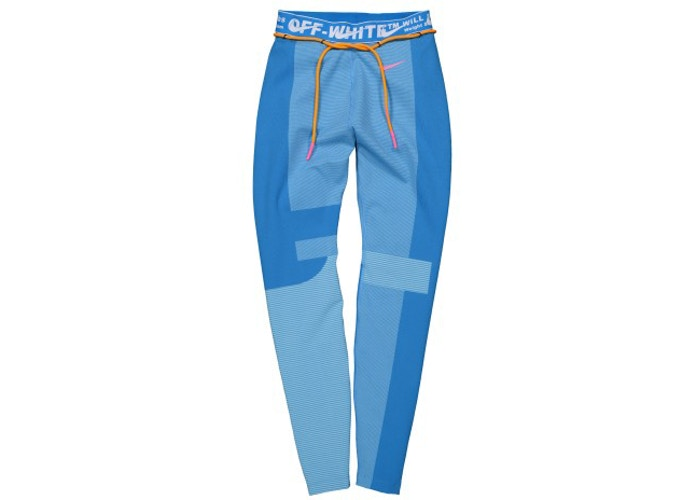 OFF-WHITE x Nike Women's Easy Run Tight Photo Blue