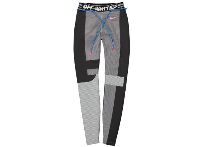 OFF-WHITE x Nike Women's Easy Run Tight Vast Grey