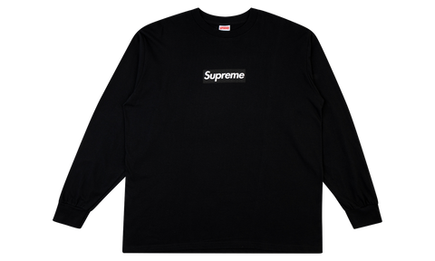 "Supreme Box Logo Long sleeve ""BLACK"" Tee"