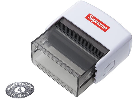 "Supreme ""Dont Ask Me 4 Shit"" Stamp White"