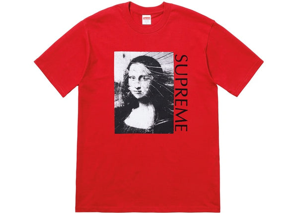 "Supreme ""Mona Lisa"" Tee Red"