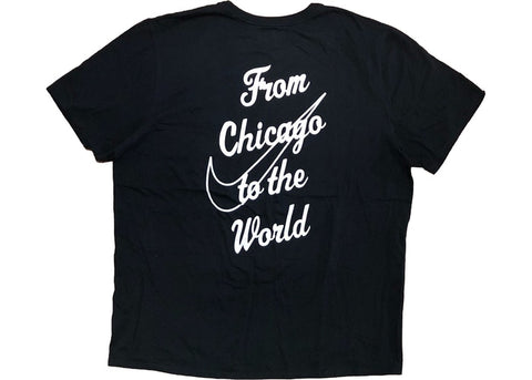 "Virgil Abloh Nike Chicago Tee ""BLACK"""