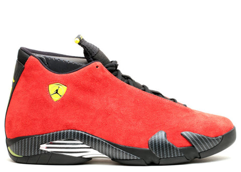 "Air Jordan 14 Retro ""Ferrari"" 654459 670"