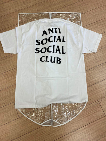 "Anti-Social Social Club ""Club Logo Tee 2"" WHITE"