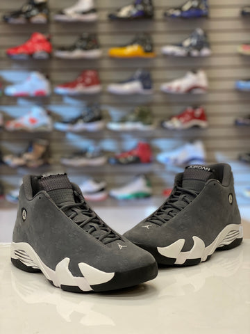 "Air Jordan 14 Retro ""OREGON GREY"" SAMPLE"