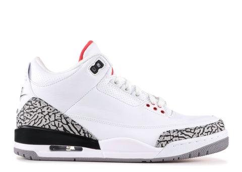 "Air Jordan 3 Retro ""WHITE CEMENT 88"" 580775 160"