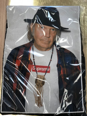 "Supreme  ""Neil Young"" Black Tee"
