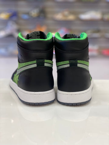 "PRE OWNED Air Jordan 1 RETRO HIGH ZOOM ""GREEN"""