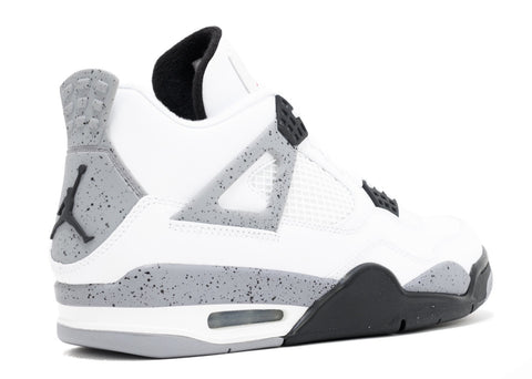 "AIR JORDAN 4 RETRO ""WHITE CEMENT 2012"" 308497 103"