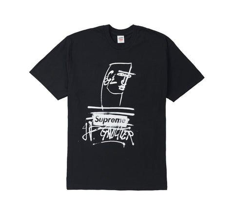 "Supreme Jean Paul Gaultier ""Black"" Tee"