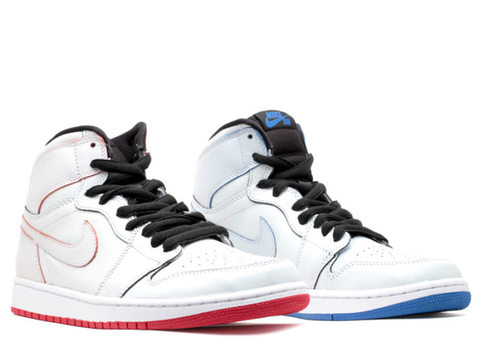 "Air Jordan Retro 1 SB ""Lance Mountain"" White 653532 100"