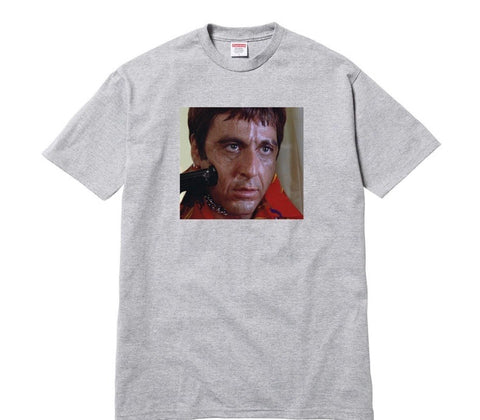 "Supreme Scarface ""Grey"" Tee"
