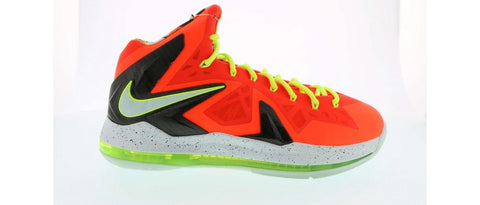 "Nike LeBron 10 ""total crimson"" Pre-Owned"