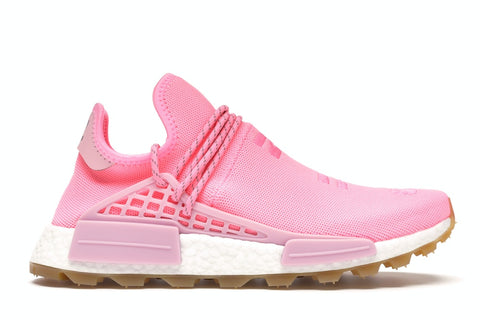 "Adidas Human Race NMD TRAIL PHARRELL ""NOW IS HER TIME LIGHT PINK"" EG7740"