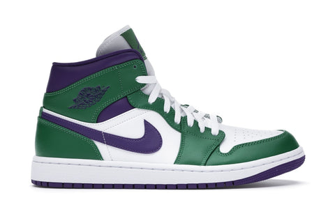 "Air Jordan 1 MID ""INCREDIBLE HULK'  554724-300"