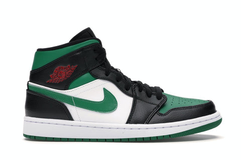 "Air Jordan 1 MID ""GREEN TOE"" 554724 067"