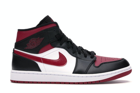 "Air Jordan 1 Mid """"Bred Toe"" 554724 066"