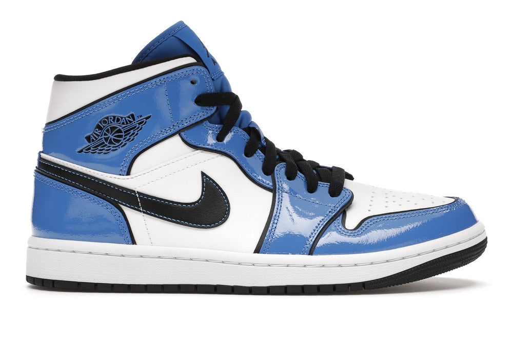 "Air Jordan 1 Mid ""SIGNAL BLUE"" DB6834 402"