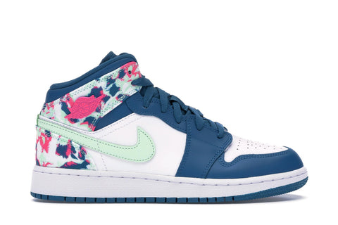 Air Jordan 1 Mid Paint Stroke (GS) 555112 300