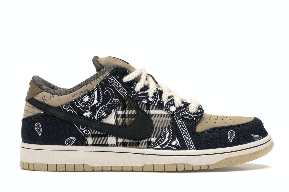 "Nike SB Dunk Low PRM ""TRAVIS SCOTT"" CT5053 001"