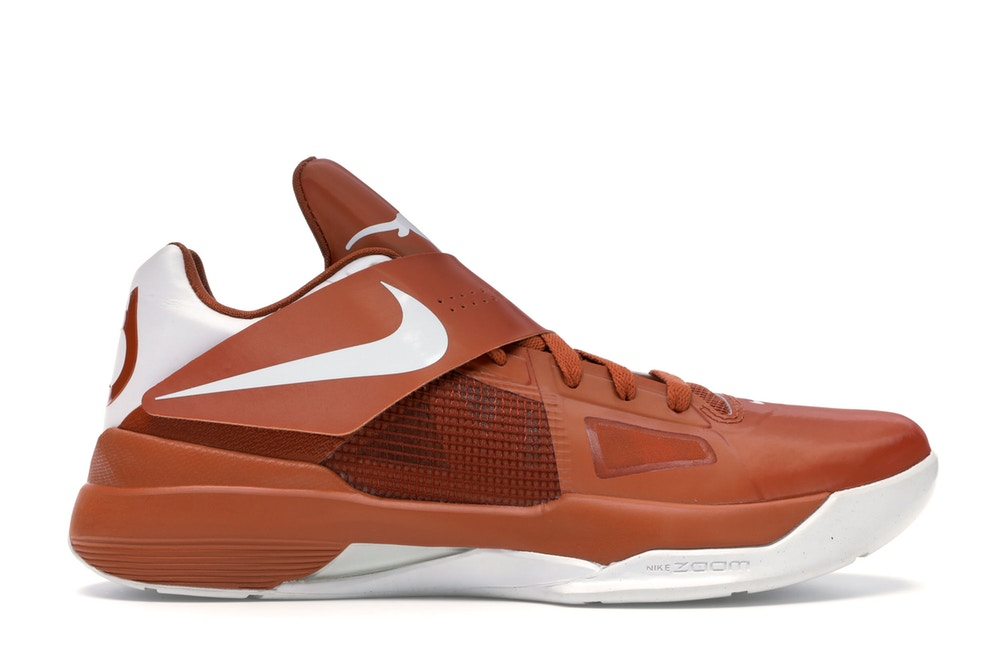 "NIKE KD 4 ""TEXAS LONGHORNS"" 473679 801"