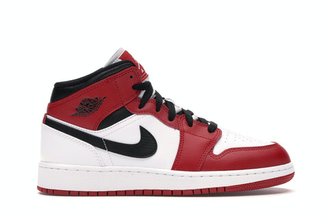 "Air Jordan 1 Retro Mid Gs ""CHICAGO 2020"" 554725 173"