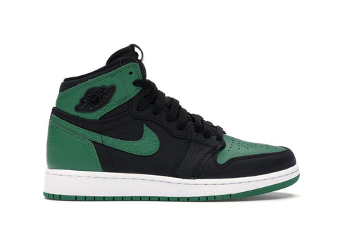 "Air Jordan 1 Retro High OG GS ""PINE GREEN BLACK""  575441 030"
