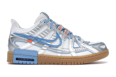 "NIKE x OFF WHITE AIR RUBBER DUNK ""UNC"" CU6015 100"