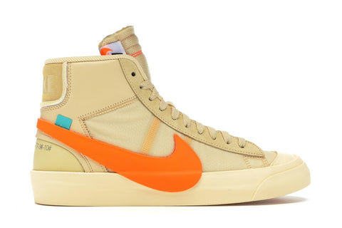"Nike Blazer Mid Off-White ""All Hallow's Eve"" AA3832 700"