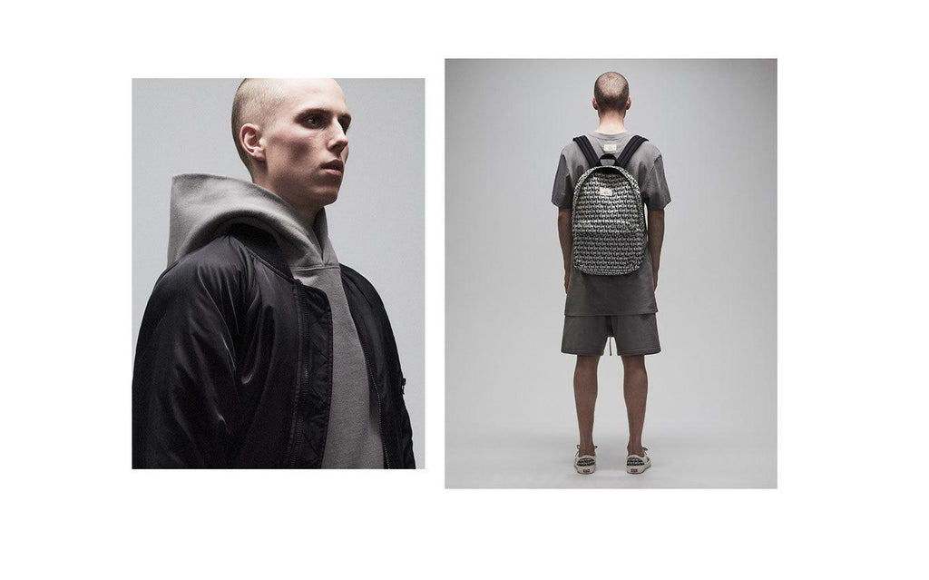 "PACSUN X FOG ""FEAR OF GOD Essentials"" Printed Backpack"